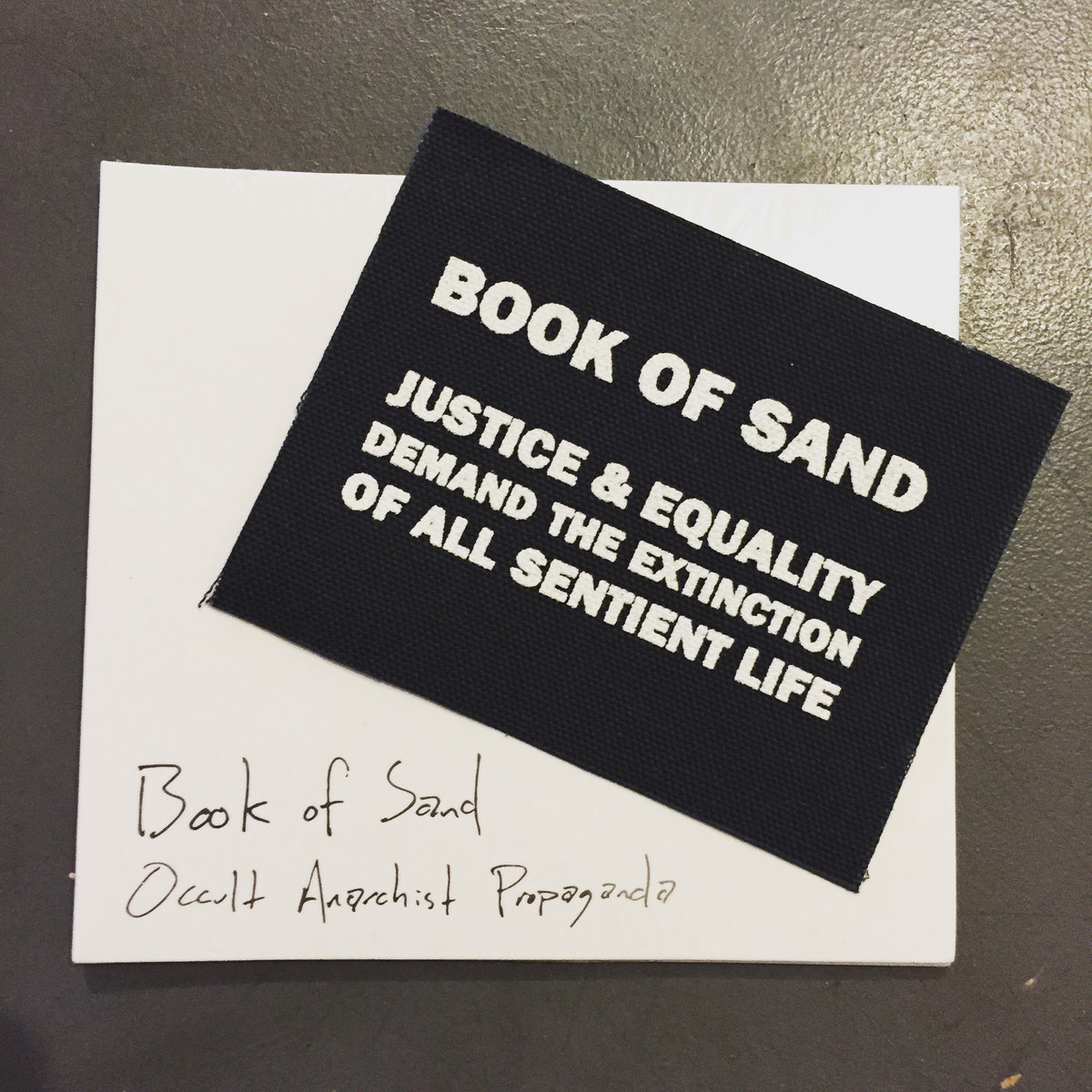 book of sand - artwork