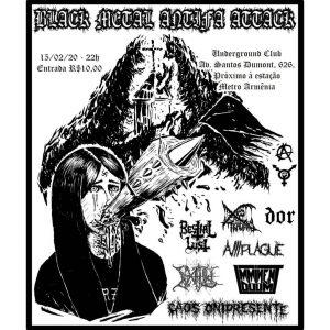 Black Metal Antifa Attack
